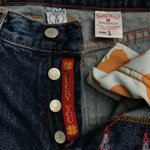 Lucky Brand Jeans - EUC - Lucky Brand Jeans - Button Fly